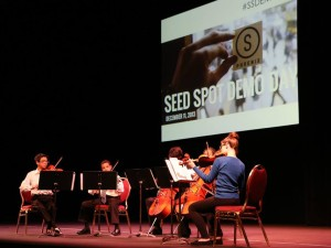 Fall 2013 Seed Spot ventures pitch business models to public at Demo Day